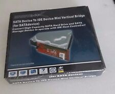 SATA DEVICE TO IDE DEVICE  Mini Vertical Bridge NEVER BEEN OPENED FACTORY SEALED
