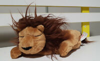 SCHOLASTIC THE LION SLEEPS TONIGHT KIDS BOOK PLUSH TOY! SOFT TOY ABOUT 18CM LONG