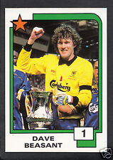 PANINI CALCIO CARD - 1988 SUPERSTARS CALCIO-N. 1-Dave beasant-Wimbledon