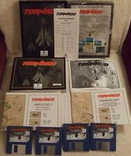 AMIGA (VINTAGE) COMPUTER (RARE) GAME   *** TORNADO - AIRCRAFT GAME ***   BOXED