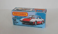 Repro Box Matchbox Superfast Nr. 31 Mazda RX 7