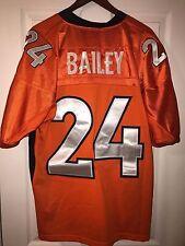 NFL Reebok Denver Broncos Champ Bailey #24 Men Size 50