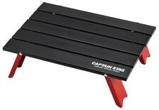 CAPTAIN STAG Compact Folding Roll Table Aluminum Black UC-520 From Japan