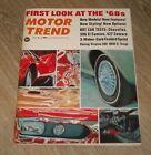 JULY+1967+MOTOR+TREND+AUTO+MAGAZINE+1968+PREVIEWS+CHEVELLE+196+EL+CAMINO+CAMARO