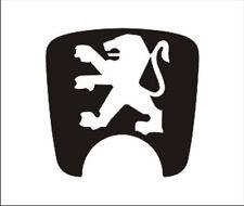 Peugeot 106 back door sticker for repair damaged emblem