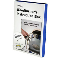 Tormek TNT300 80-Minute DVD and Handbook Turner's Instruction Box