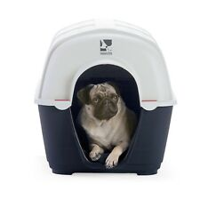 Fido & Fletch PLASTIC DOG KENNEL Vent On Back, Portable- Small Or Medium