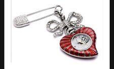 Vivienne Westwood Corazón Broche Reloj #nuevo y en caja