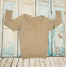 Women's Ann Taylor Loft Taupe Tan Sweater Size XS