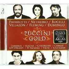 PAVAROTTI/NETREBKO/VILLAZON/BOCELLI/DOMINGO/+ - PUCCINI GOLD 2 CD NEU