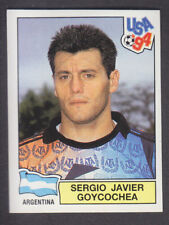 Panini - USA 94 World Cup - # 245 Sergio Goycochea - Argentina (Black Back)