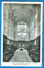 2 King's College Chapel, Cambridge, England RPPC