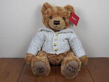 "FAO Schwarz 2016 Collector 12"" Teddy Bear Stuffed Animal Plush Toy *NEW W/ TAGS*"
