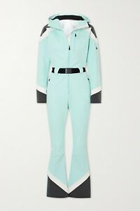 PERFECT MOMENT Allos belted color-block SKI SUIT Skisuit NEW Size Medium £790