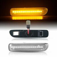 LED SEITENBLINKER für BMW 3er | E46 | Cabrio | Coupe | BJ 1999 - 2003 | KLARGLAS