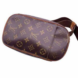 LOUIS VUITTON Pochette Ganju Monogram M51870 CA0045 Body Bag Kabukiya 21017128NT