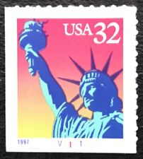 1997 Scott #3122 - 32¢ - STATUE OF LIBERTY - Single Booklet Stamp - Mint NH