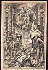 Maximilian II. Emanuel Bayern schönes barockes Titelblatt mit Portrait Original