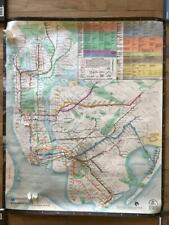 1979 NYC New York Subway Car or Station Map Diamond Jubilee