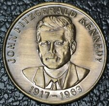 1917-1963 JOHN FITZGERAL KENNEDY 1809-1865 ABRAHAM LINCOLN Commemorative Medal