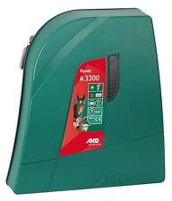 Weidezaungerät Power A 3300 Elektrozaun digital Batterie Akku Mobil Solormodul