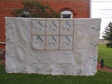 Vintage Antique Quilt, Embroidery,Trapunto & Primitive Quilting,Italian heritage