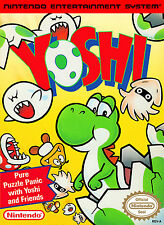 "Nintendo Nes  Yoshi   Box Cover Photo Poster 8.5""x11"" Game Room"