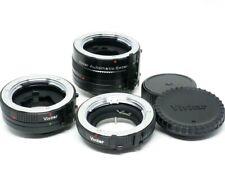 Zwischenringe SET 12mm + 20mm + 36mm für Minolta MD Bajonett vom Fachhändler