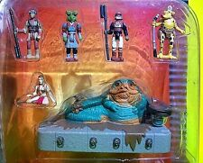 Star Wars Battle Pack #8 Jabba the Hutt, Princess Leia Slave Girl Sy Snootles