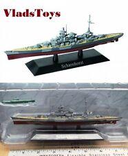 DeAgostini 1/1250 German Kriegsmarine battleship Scharnhorst  w/U-boat DAKS02