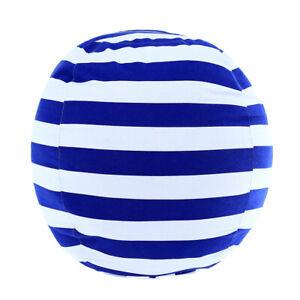 Stuffed Animal Storage Bean Bag Chair Bean Bag Covers Only White Blue Stripes