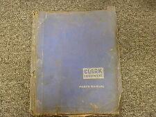 Clark Model  C500 100 LPG Forklift Lift Truck Parts Catalog Manual Book