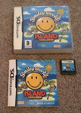 Smiley Worlds Island Challenge - Nintendo DS - TESTED