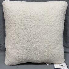 "Pottery Barn PB Teen Ivory Ultra Plush 16"" Pillow"