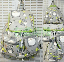 New My Neighbor Totoro Ghibli Cosplay backpack School Bag canvas Bag