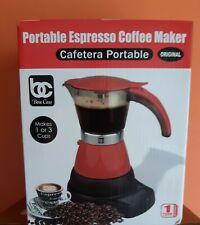 ELECTRIC CUBAN ESPRESSO COFFEE MAKER.CAFETERA EL�‰CTRICA CUBANA.(1-3 tazas).