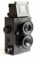 USD DIY Retro Recesky Twin Lens Reflex TLR Camera set as Holga Lomo Film 35mm