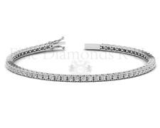 2.00Carat Round Brilliant Cut Diamond Tennis Bracelet in White Gold Hallmarked