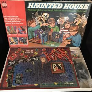 Haunted House Toy Denys Fisher Board Game Vintage 1971 Complete Made in England