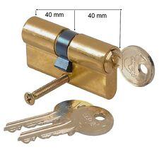VACHETTE,Cylindre Sécurité Porte,80 mm ,3 Clés,,40 x 40 mm,Canon,Barillet,Verrou