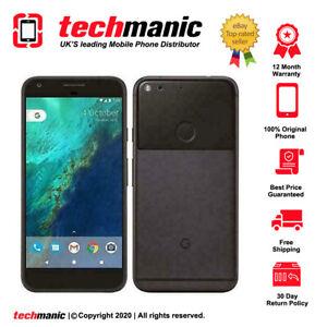 Google Pixel - 32GB - Quite Black (Unlocked) Smartphone - Original
