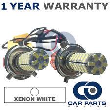 2X CANBUS WHITE H4 120 SMD LED DIP BEAM BULBS FOR PEUGEOT 107 206 BOXER PARTNER