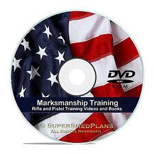 Rifle and Pistol Marksmanship Ballistics Instructional Videos & Manuals, DVD V55