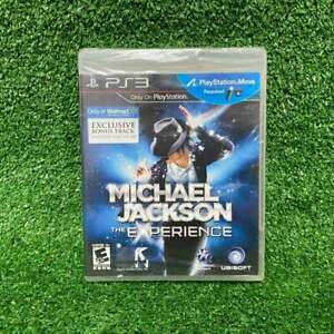 Brand New Sealed Sony Video Game Michael Jackson The Experience PlayStation PS3
