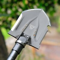 Outdoor Survival Tactical Folding Camping Shovel With Battle Axe Multitool #317