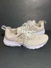New Women's Nike Air Presto Running Shoe Size 9 Desert Sand-White 878068-014