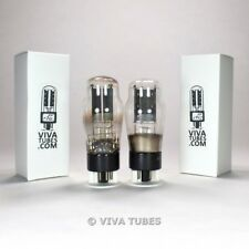 Tests NOS Matched Pair Philips GZ32 [5V4G] Welded Plate [] Foil Get Vacuum Tubes