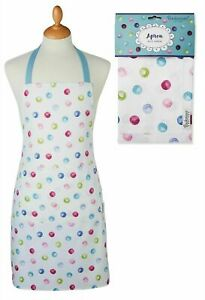 COOKSMART WOMAN'S COTTON APRON SPOTTY DOTTY OR BESIDE THE SEASIDE NEW (66)