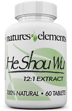 He Shou Wu for Gray Hair - Chinese Herb Stimulates Hair Growth - Prepared 12:1