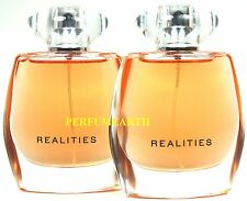 2 Pieces Realities By Liz Claiborne 1.6/1.7oz. Edp Spray For Women New And Unbox